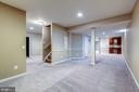 Finished Lower Level w/ 9' Ceilings - 43397 BALLANTINE PL, ASHBURN