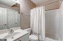 Lower Level Full Bath - 43397 BALLANTINE PL, ASHBURN