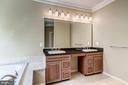 Master Bath w/ Double Sinks - 43397 BALLANTINE PL, ASHBURN