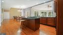 Nice gourmet kitchen - 42531 LONGACRE DR, CHANTILLY