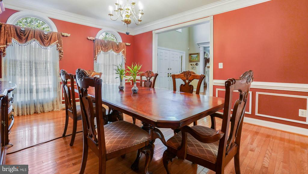 Formal Dining room - 42531 LONGACRE DR, CHANTILLY