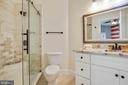 En-Suite Bathroom renovated this month! - 43353 VESTALS PL, LEESBURG