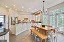 Gourmet Kitchen - Island, Granite, SS appliances - 43353 VESTALS PL, LEESBURG