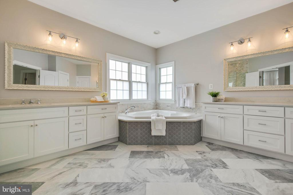 Master Bath renovation just completed this month! - 43353 VESTALS PL, LEESBURG