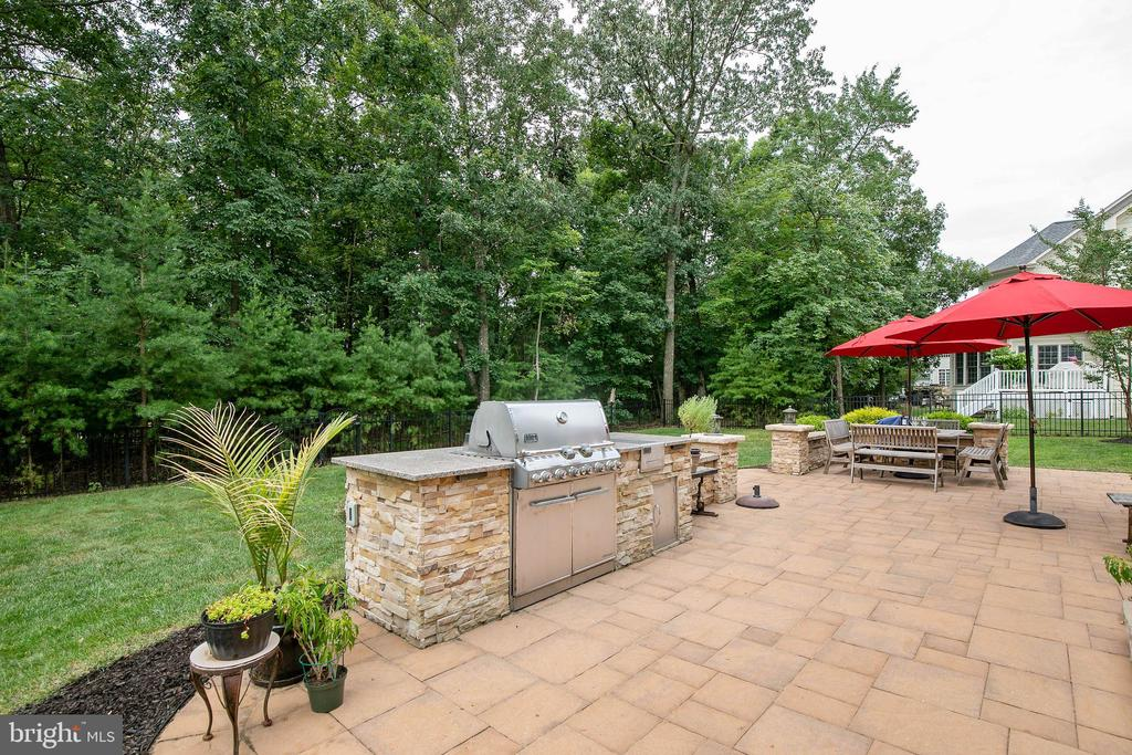 Entertain and lounge on the patio with treed view - 43353 VESTALS PL, LEESBURG