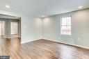Real hardwood floors on the main level - 277 NEWCOMB ST SE, WASHINGTON