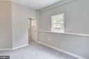 Bedroom with its own entry way on main floor - 277 NEWCOMB ST SE, WASHINGTON
