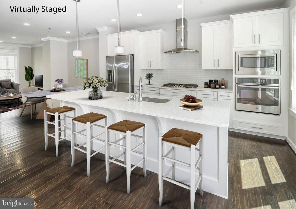 Gourmet Kitchen/Open Floorplan - 3420 11TH ST S, ARLINGTON