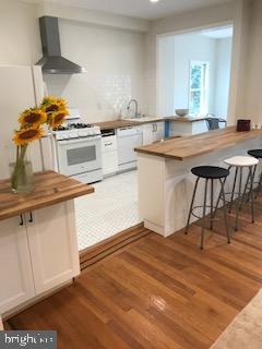 island with cabinets, new appliances - 1759 HOBART ST NW, WASHINGTON