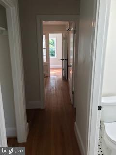 Upstairs hallway, links master, bath, and bedrooms - 1759 HOBART ST NW, WASHINGTON