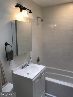 completely new bathroom - 1759 HOBART ST NW, WASHINGTON