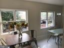 solarium / dining area, back view - 1759 HOBART ST NW, WASHINGTON