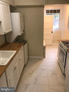 walk-through kitchen, new bath in the back - 1759 HOBART ST NW, WASHINGTON