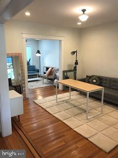 Living room view, front door - 1759 HOBART ST NW, WASHINGTON