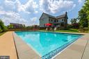 Outdoor Salt Water Pool -- 5 Ft. Deep - 9520 PENIWILL DR, LORTON