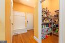 Walk In Pantry, and Views of Mud Room - 9520 PENIWILL DR, LORTON