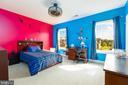 Bedroom #2 with Custom Closet Features - 9520 PENIWILL DR, LORTON