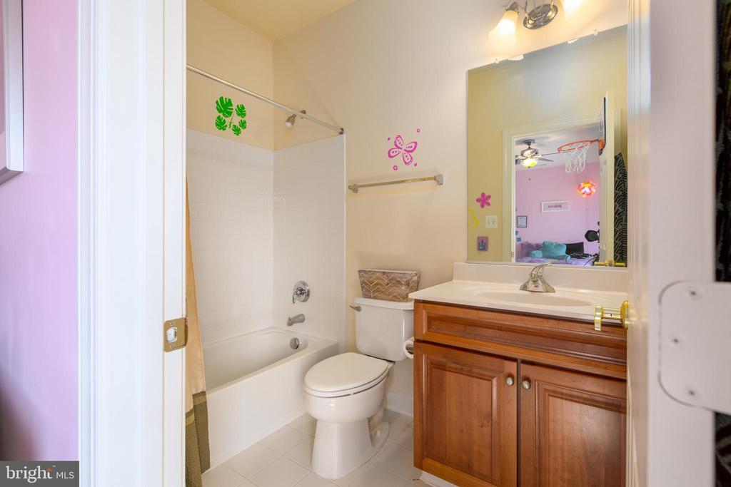 En Suite Bath for Bedroom #3 - 9520 PENIWILL DR, LORTON