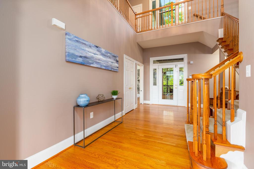 Extended Center Hall  and Views of Upper Level - 9520 PENIWILL DR, LORTON
