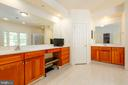 Master Bedroom with Make Up Area & Water Closet - 9520 PENIWILL DR, LORTON