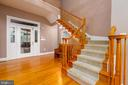 Rear Center Hall leads to Upper Level - 9520 PENIWILL DR, LORTON