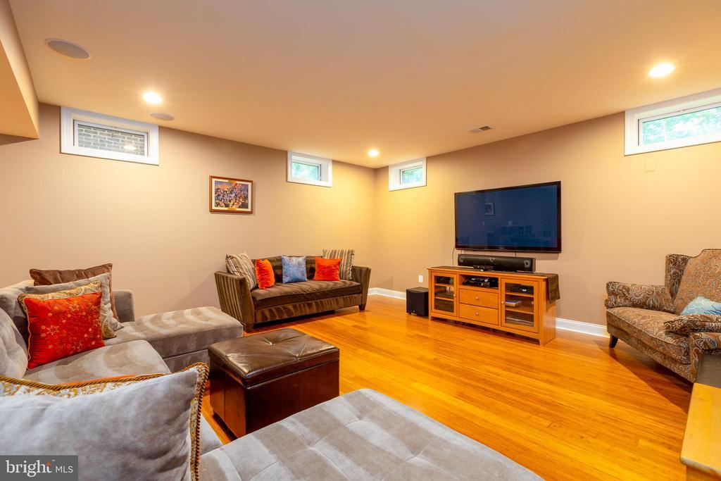 Lower Level  Recreation Room - 9520 PENIWILL DR, LORTON