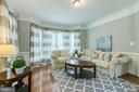 Formal living room (crown molding & wainscoting) - 75 TOM JENKINS RD, FREDERICKSBURG