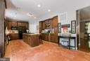 Large kitchen with center island - 75 TOM JENKINS RD, FREDERICKSBURG