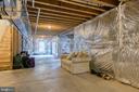 unfinished basement - 75 TOM JENKINS RD, FREDERICKSBURG