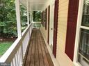 Beautiful balcony from the master bedroom - 6329 EMBER CT, MANASSAS