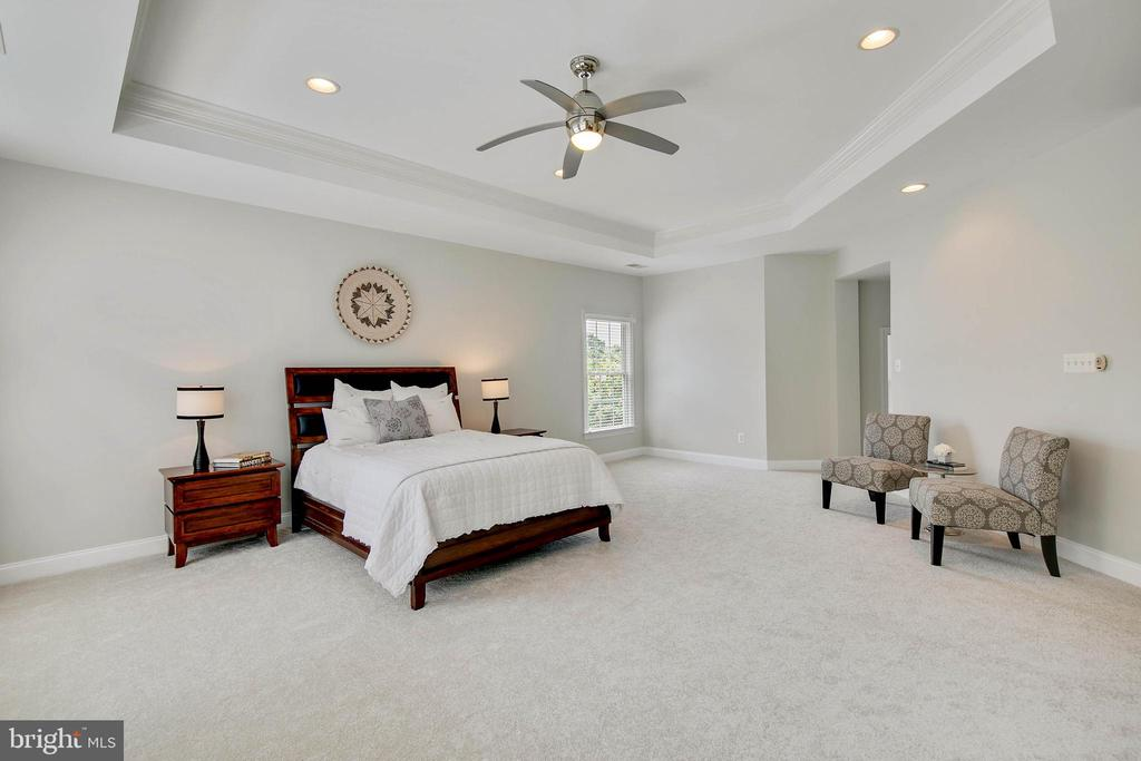 Master Bedroom  has brand new carpet. - 43353 VESTALS PL, LEESBURG