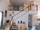 view of loft with bedroom and bath - 1509 SCHWINN ST, MIDDLETOWN