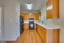 Kitchen with Corian Counters - 31 FULTON DR, STAFFORD