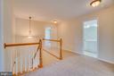 Upper Level Hallway w/ New Light Fixtures - 31 FULTON DR, STAFFORD