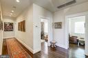Upstairs hallway - 2733 35TH ST NW, WASHINGTON