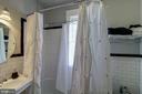 Full bath off the hall - 2733 35TH ST NW, WASHINGTON