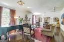 Living room - 2733 35TH ST NW, WASHINGTON