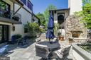 flagstone patio with second wood burning fireplave - 2733 35TH ST NW, WASHINGTON