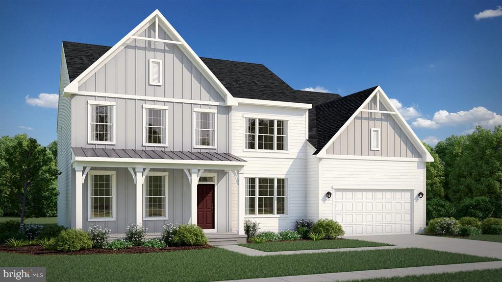 The Carson - Optional Front Elevation - 0 SAWGRASS LN, FREDERICKSBURG