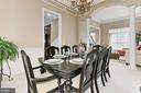 Dining Room - 11896 CHANCEFORD DR, WOODBRIDGE