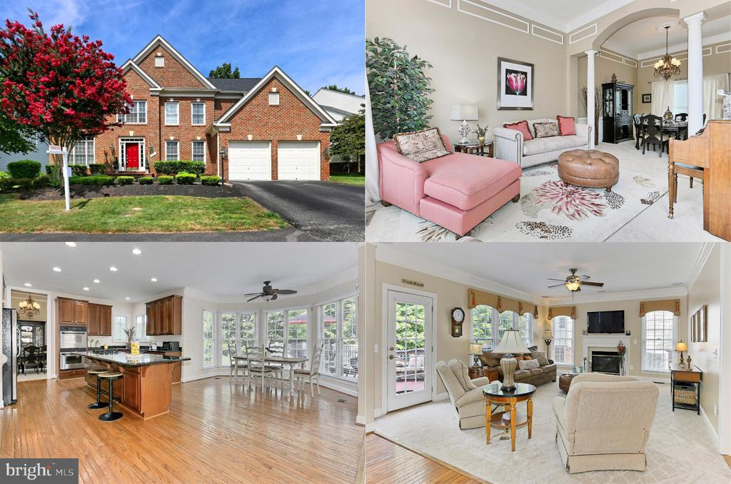 Amazing home backing to trees & 10th golf tee! - 11896 CHANCEFORD DR, WOODBRIDGE