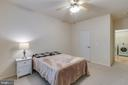 2nd bedroom with walk-in closet - 11800 OLD GEORGETOWN RD #1208, ROCKVILLE