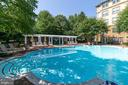 Pool - 11800 OLD GEORGETOWN RD #1208, ROCKVILLE
