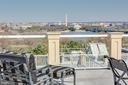 Amazing rooftop terrace w/panoramic view of D.C. - 1419 N NASH ST, ARLINGTON