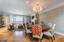 A wonderful space to entertain guests - 1419 N NASH ST, ARLINGTON