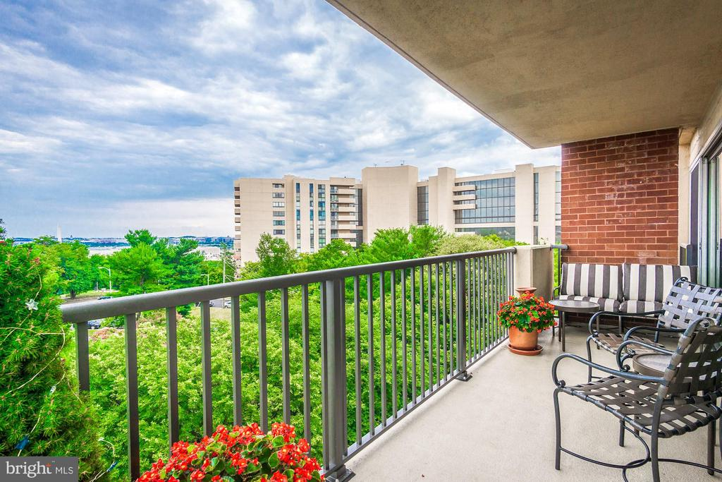 Wrap-around balcony with Monument views! - 1300 ARMY NAVY DR #1009, ARLINGTON