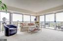 Panoramic views from the living room! - 1300 ARMY NAVY DR #1009, ARLINGTON
