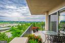 Huge balcony! - 1300 ARMY NAVY DR #1009, ARLINGTON