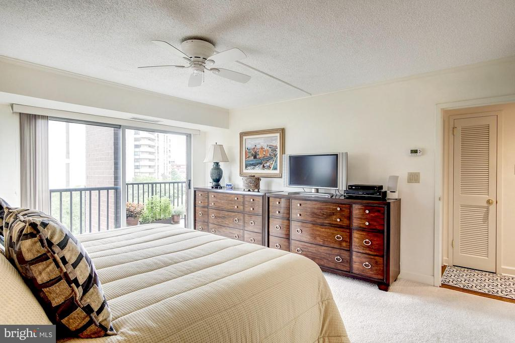 Spacious room with ceiling fan - 1300 ARMY NAVY DR #1009, ARLINGTON