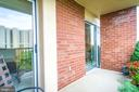 Second balcony! - 1300 ARMY NAVY DR #1009, ARLINGTON
